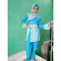 Baju Muslim Anak Perempuan 8 - 9 Tahun Setelan Celana