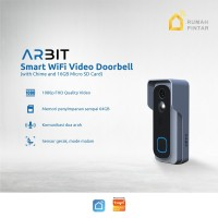 ARBIT - Smart Home Wifi Video Doorbell 1080p Audio TUYA