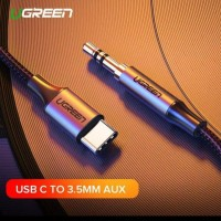 Ugreen Adapter Jack 3.5mm Tipe C USB C to 3.5mm AUX