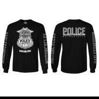 tshirt kaos lengan panjang Harley Davidson Police BIG SIZE 3XL & 4XL