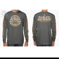 tshirt kaos lengan panjang Harley American Classic BIG SIZE 3XL & 4XL