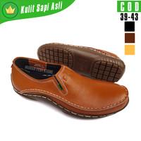 Sepatu Formal Pria KicKers Original Sepatu Slip On Casual