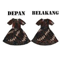 Batik IFA - Baju Batik Anak Perempuan - Dress Anak Perempuan - Kode 04