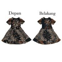 Batik IFA - Baju Batik Anak Perempuan - Dress Anak Perempuan - Kode 02