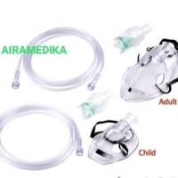Alat Selang Masker Uap Nebulizer/ Masker Nebulizer Anak GEA