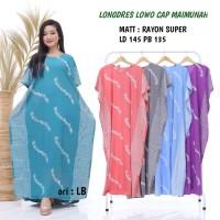 longdres jumbo batik cap - longdres jumbo dashima - baju batik wanita