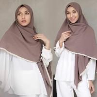 Kerudung Jilbab Segi Empat Instan Syari Jumbo 150x150 cm - Mayra Renda