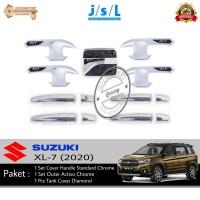 PAKET Suzuki XL-7/XL7 Handle Standard, Outer Chrome dan Tank Cover