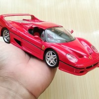 Mainan Diecast Maisto Replika Mobil Red Ferrari F50 1:24 Toys Bekas