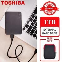 Toshiba Canvio Ready 1TB - External Hard Disk USB 3.0 HDD + Free Pouch