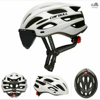 Helm Sepeda Cairbull Visor Magnetic Lens with Goggle lens not rockbros