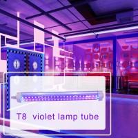 Lampu Dinding LED Warna Ungu dengan Sinar UV untuk Rumah / Hotel /