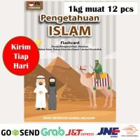 Flashcard PENGETAHUAN ISLAM Kartu Edukasi Konsep Mainan Edukatif