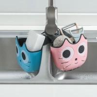 Rak Gantung Wastafel Dapur dengan Kancing Snap