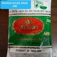Thai Green Tea Mix Refill Number One/Chatramue Brand 200gr NON FREEONG
