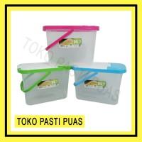 Container Kotak Tempat Beras Reiss 14,5 Liter Green Leaf 7867
