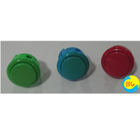 Tombol Sanwa Type Arcade DingDong Push On Button Parts ORI 100% JAPAN