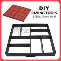 Cetakan Paving Block DIY Paving Blok Cetakan Jalan - KOTAK-KOTAK