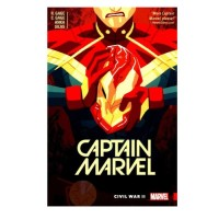 [Buku Import] Captain Marvel Vol. 2: Civil War II