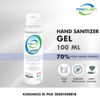 Hand Sanitizer 70% Antiseptic Gel Antiseptik Food Grade PROKLEEN 100mL