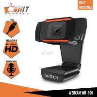 Webcam Pc WB300 Mtech Original HD 640 x 480 px Usb With Microphone