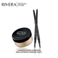 Rivera Luminous Micro Powder & Bold Intense Eyebrow Matic