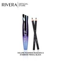 Rivera Volume Mascara Madness & Eyebrow Black