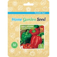 Benih Paprika California Wonder - Sweet Pepper - Home Garden Seed