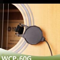Pickup gitar akustik klasik ukulele clip-on cherub wcp-60g pick-up