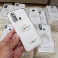 Silikon Case Bahan Tebal Bening Casing Vivo Y30 Y50