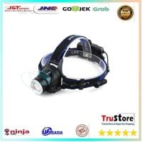 SENTER BERBURU Senter Headlamp 1 LED Cree XM-L T6 3000 Lumens