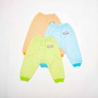 Celana Panjang Rib -Blessing babywear- salur-size:NB-S-M-Lisi Set 3 pc