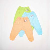 Celana Panjang Kaki Tutup-Blessing babywear- salur-(Size:NB-Set 3 pcs)