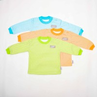 Oblong Panjang bayi salur-Blessing babywear--size:S-M-L(isi Set 3 pcs)