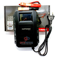 Alat Cas Accu/Charger Aki Mobil Lead Acid Smart Charger 12V20A LCD