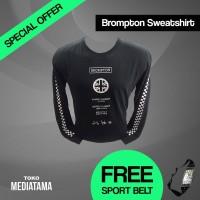 Baju Kaos Tshirt Lengan Panjang Olahraga Sepeda Lipat Brompton T-Shirt