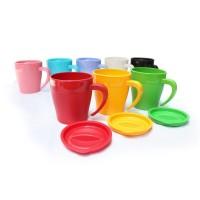 Mug HOYA gelas plastik BPA Free PP Food grade