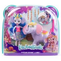BONEKA ENCHANTIMALS Doll Playset - EKATERINA ELEPHANT & ANTIC