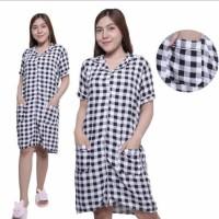 Dress wanita santai motif karakter /daster piyama wanita santai
