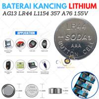Battery Batre Baterai Batrei Baterei Kancing LR44 AG13 LR41 SR41 AG3