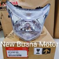 Reflektor Lampu Depan Beat Pop Only
