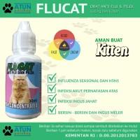 Flucat Obat Flu Demam Dan Pilek Untuk Kucing Kesayangan