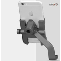 Holder HP Smartphone Sepeda Motor Full Metal - Breket Spion - INIU C2