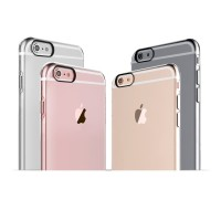 Ibacks Inherent Jacket Clear Case with Independent Button for iPhone6s