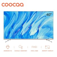 COOCAA 40 inch Android 9.0 Smart LED TV -Infinity View- FHD (40S6G)