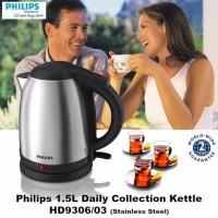 Philips HD9306 Kettle Teko Listrik 1,5L Pemanas Air Elektrik Stainless