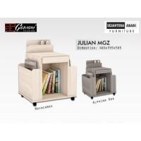 Meja Majalah / Rak Serbaguna Julian MGZ Merk Garvani Furniture