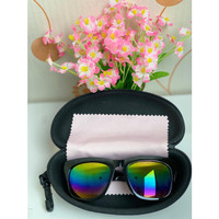 kacamata uv korea pria wanita kekinian sunglasses trendy beserta kotak
