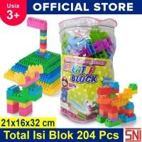 Mainan Edukasi Anak Ocean Toy Block Creative Isi 204 Pcs - OCT9203