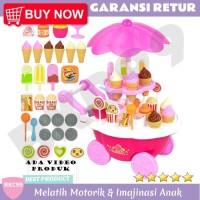 B45 Mainan Anak Perempuan Jualan Es Krim Ice Cream Mainan Anak Murah